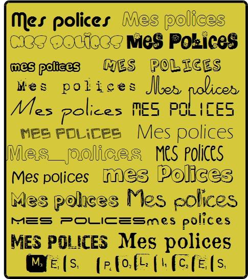 Ideal Polices d'écriture | Mon école KZ45