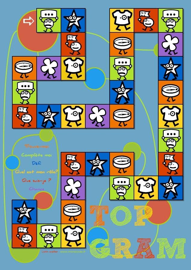 Personnes notables jeu à imprimer ] Top gram – Cycle 3 | livres pour la classe Cycle  YQ45