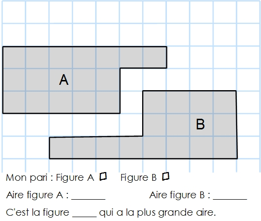 Geometrie Aire Au Cycle 3 Mon Ecole