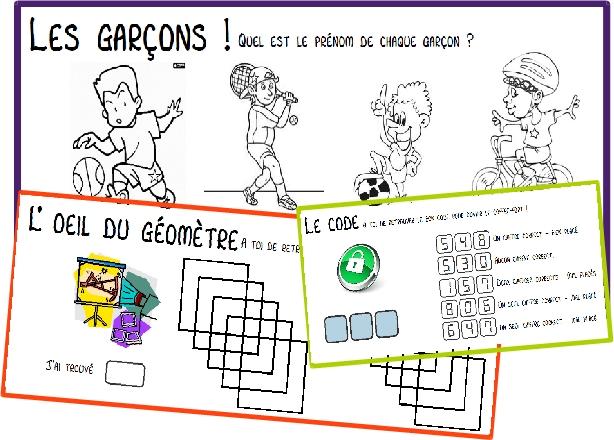 Assez Rituel] La série 2 des petites énigmes mathématiques | ma classe  DW28