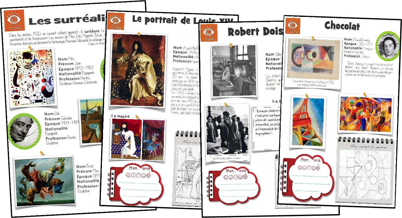 Histoire de l art ma classe mon cole cycle 3 ce2 - Photographie d art en ligne ...