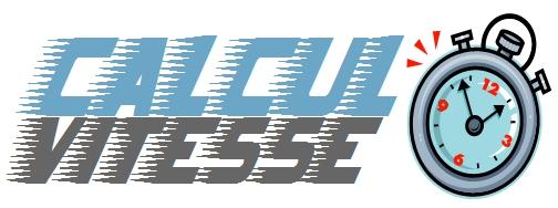 calcul vitesse logo