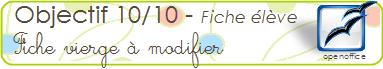 10 sur 10 modif