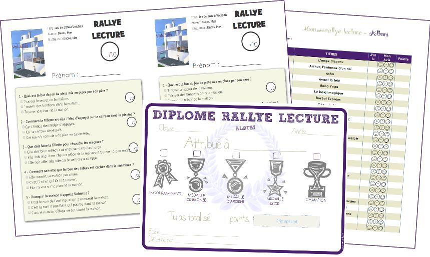 Gut gemocht Organiser un rallye lecture – Cycle 2 et Cycle 3 | ma classe mon  CA15