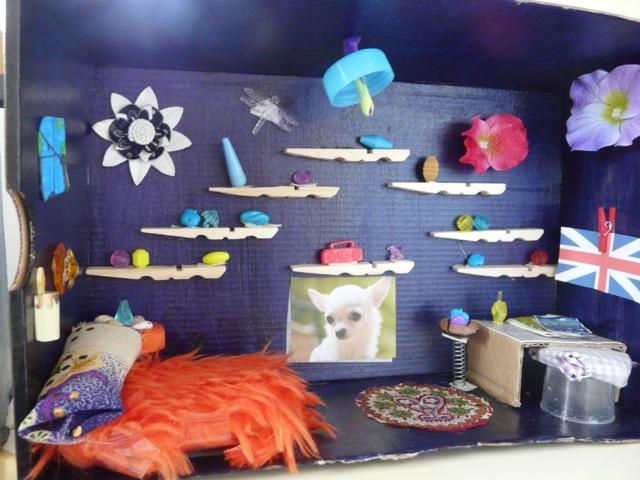 Art visuel les boites et la po sie cycle 3 ma classe - Fabriquer une chaussure en carton ...