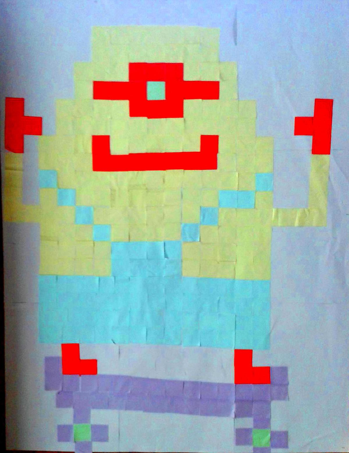 minion-pixel-art