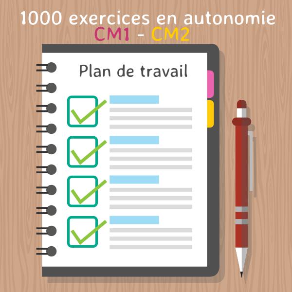 Plan De Travail Activités Et Exercices Pour Le Cycle 3