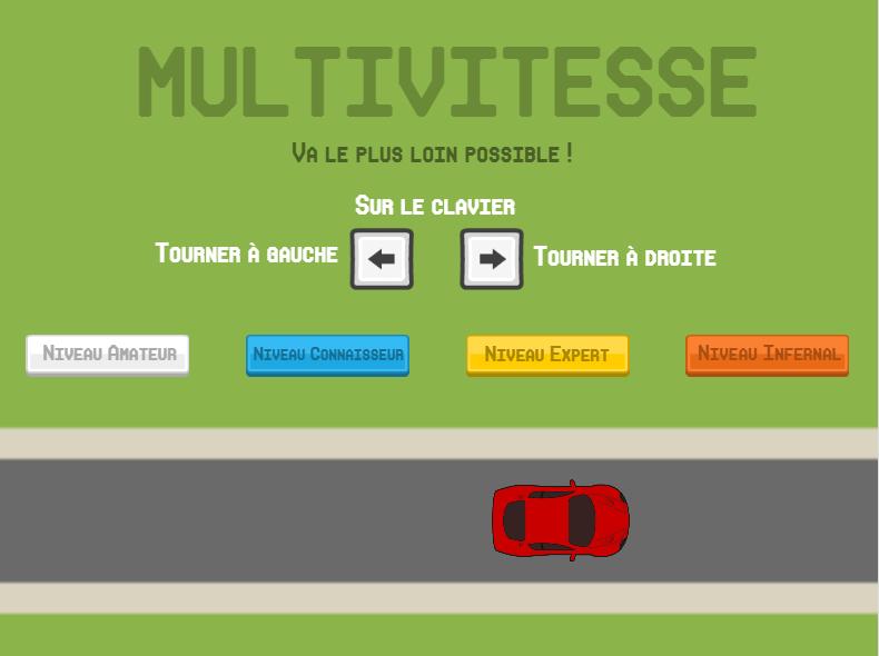 Jeu en ligne multivitesse entrainement en ligne aux for Les tables de multiplication en ligne
